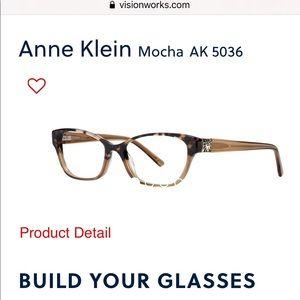 Anne Klein (200) AK 5036 Mocha Tort Fade 52 16 140